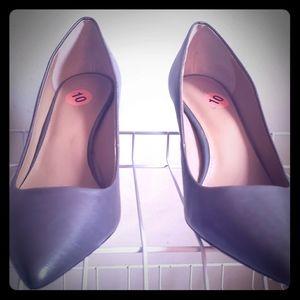 Calvin Klein Heels Steel Color Size 10